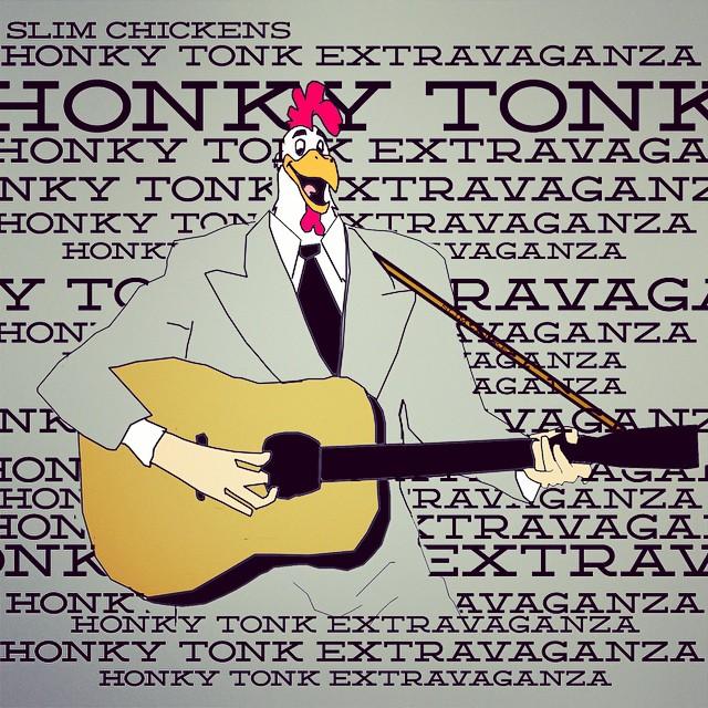 Slim Chickens' Honky-Tonk Extravaganza — November 26, 2014 — The Star Community Bar, Atlanta, GA