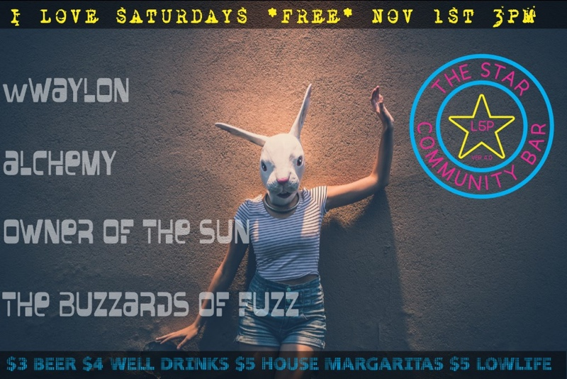 I Love Saturdays — November 1, 2014 — The Star Community Bar, Atlanta, GA