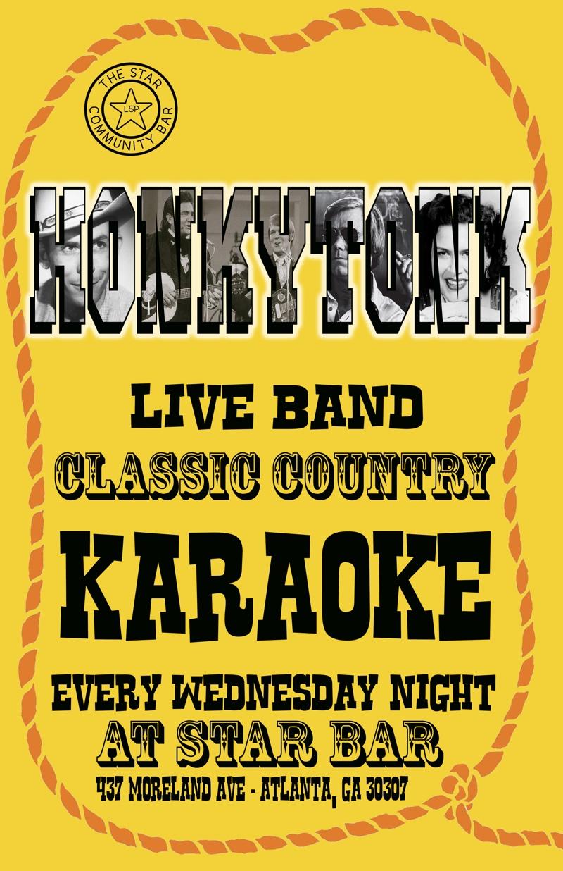 Slim Chickens' Honky-Tonk Extravaganza — December 3, 2014 — The Star Community Bar, Atlanta, GA