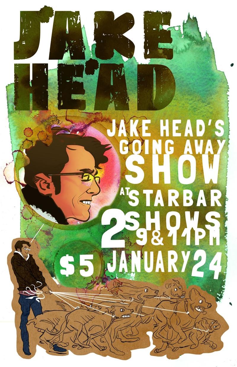 Jake Head's Going Away Shows — January 24, 2015 — The Star Community Bar, Atlanta, GA