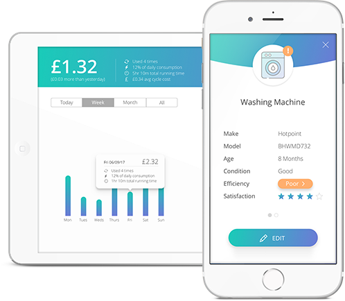Digital products like  Verv  are sold as home energy assistants that gives residents intelligent information about key appliances and electricity usage in their homes.