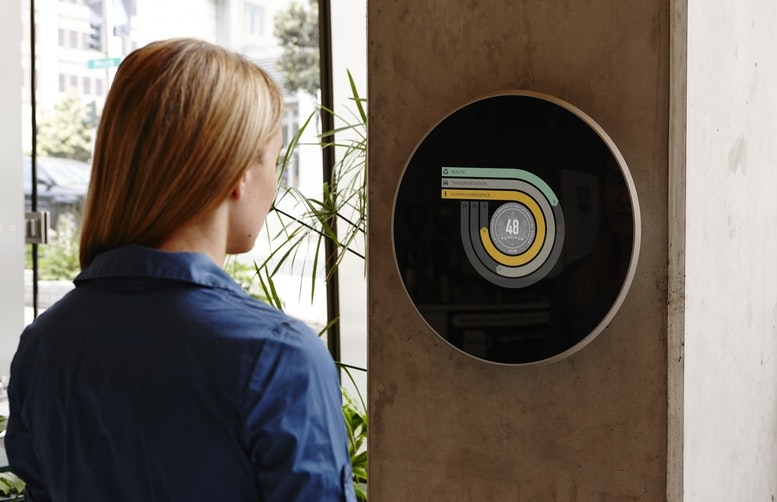 IDEO's redesign of the U.S. Green Building Council's LEED plaque.