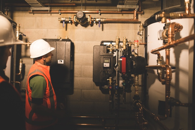High-efficiency thermal stores in the basement of the 'Dunnies n' Showers' building .jpg