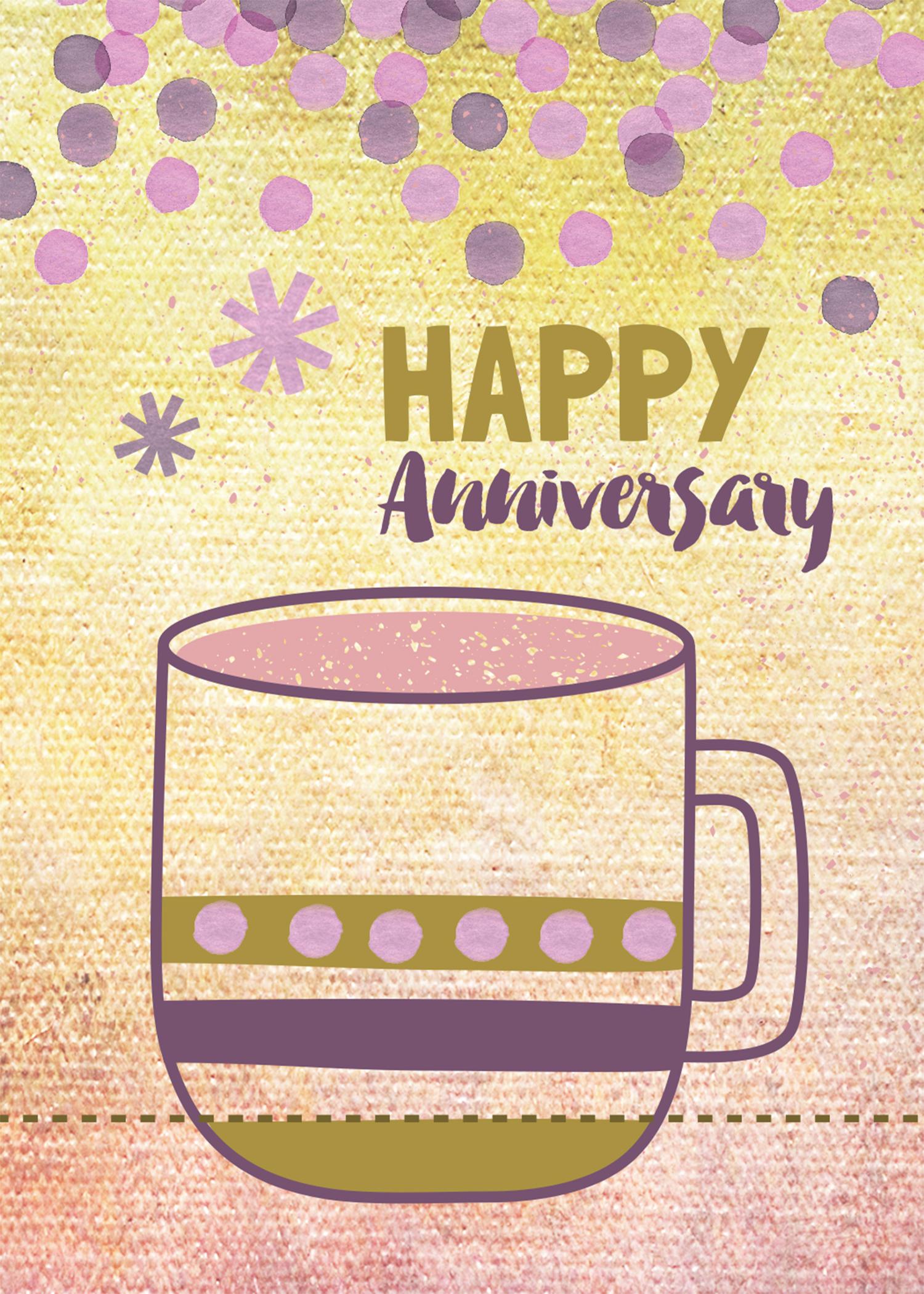 Painted anniversary