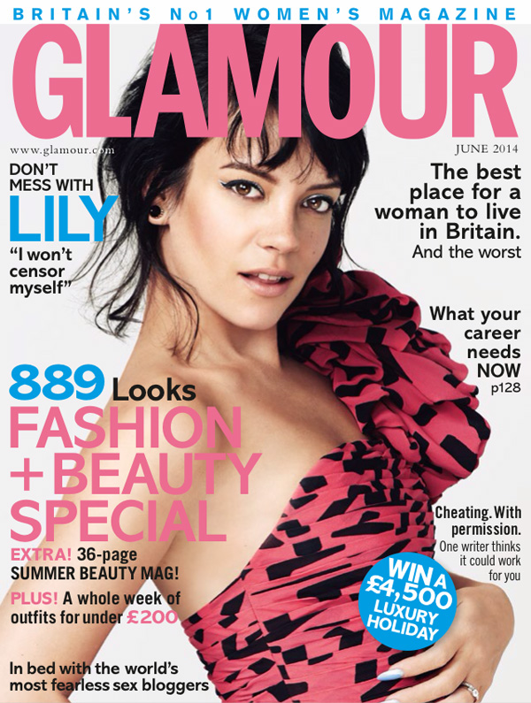 GLAMOUR UK . JUNE 2014 ISSUE