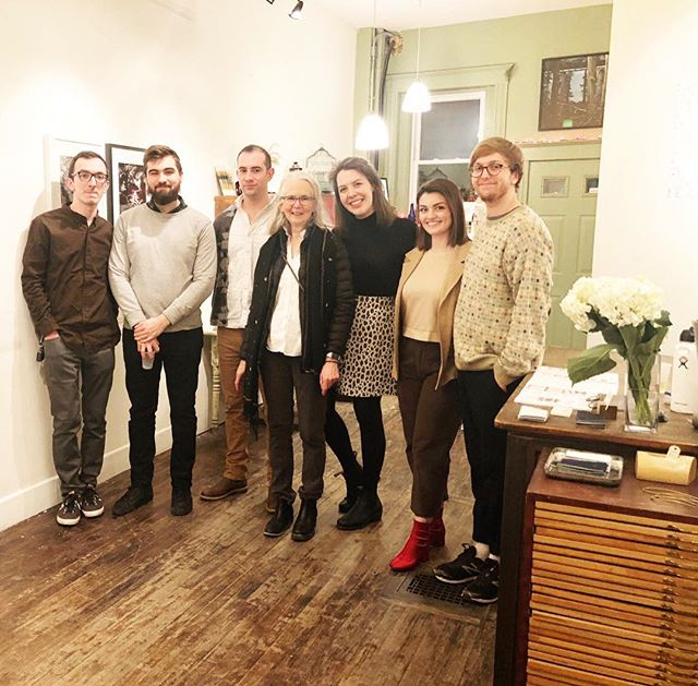 We can't believe we are about to say goodbye to our March exhibition, Dust Collective: Handmade Photography Books! Here are just some of the artists who made this show possible. Thank you to all who participated, lent a helping hand, attended our opening, or came by to see the show! And thank you of course to Emily Sheffer for making Dust Collective & this show possible!