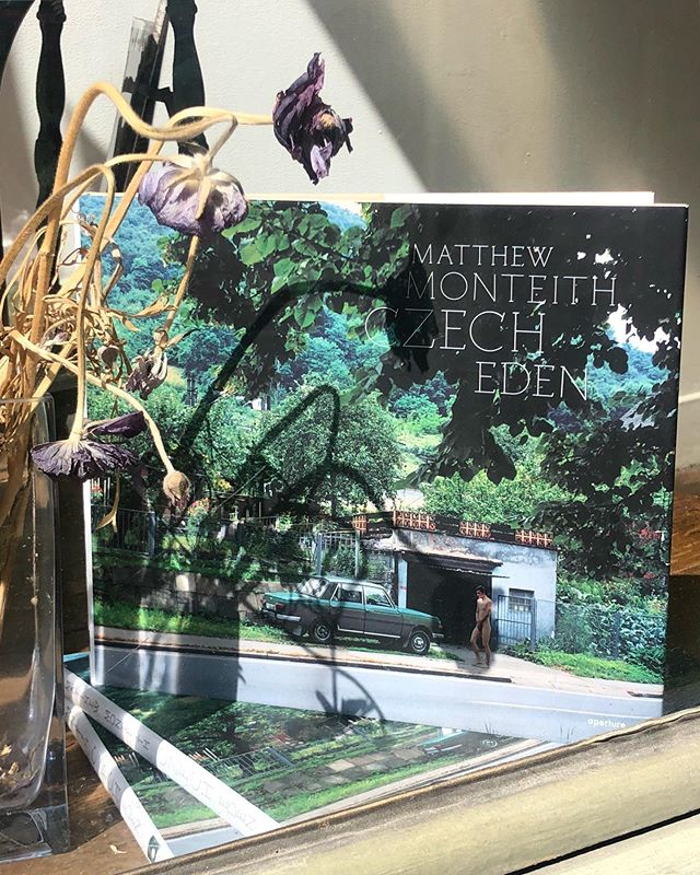 We'd like to take a moment to officially welcome @monteith.matthew back to the US, and remind you all that we have copies of his book, Czech Eden for sale!  Swing on by the store or DM us for pricing- we can ship to you!