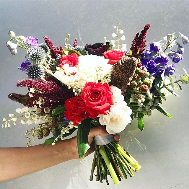 Bang! Tiff's bouquet yesterday ❤