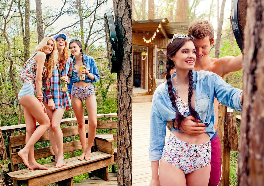 Hannah Johnson: Factor Women  Sarah Wilson: Click Models  Rachel Zehner: Factor Women  Charley Boring: Chosen Model Management