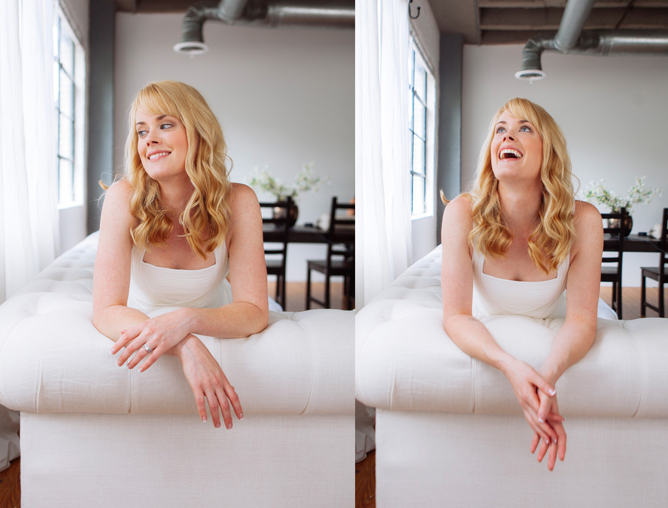 Abigail Hawk - one of the best traits of a good subject is the ability to laugh during the photoshoot
