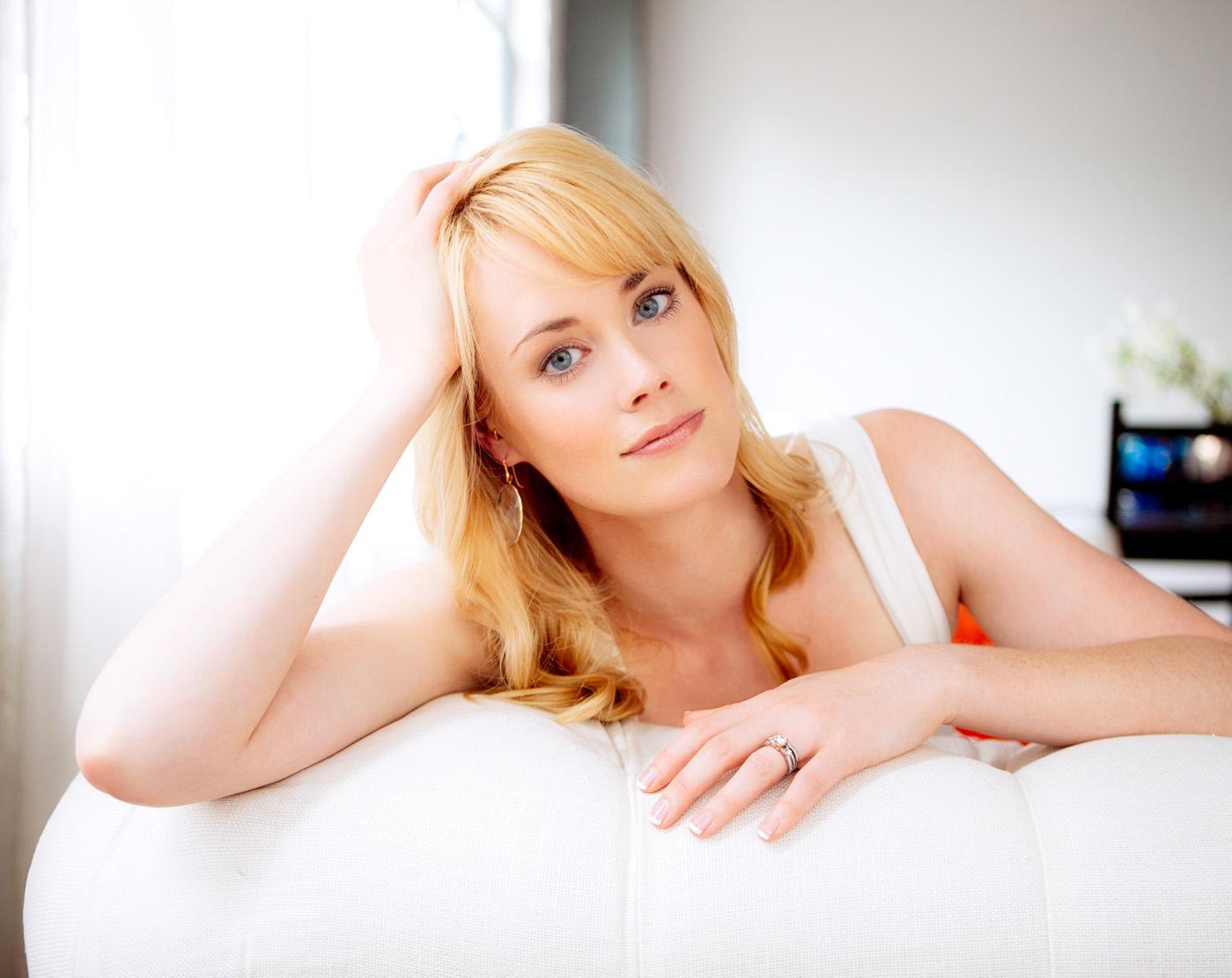 Abigail Hawk - always radiant