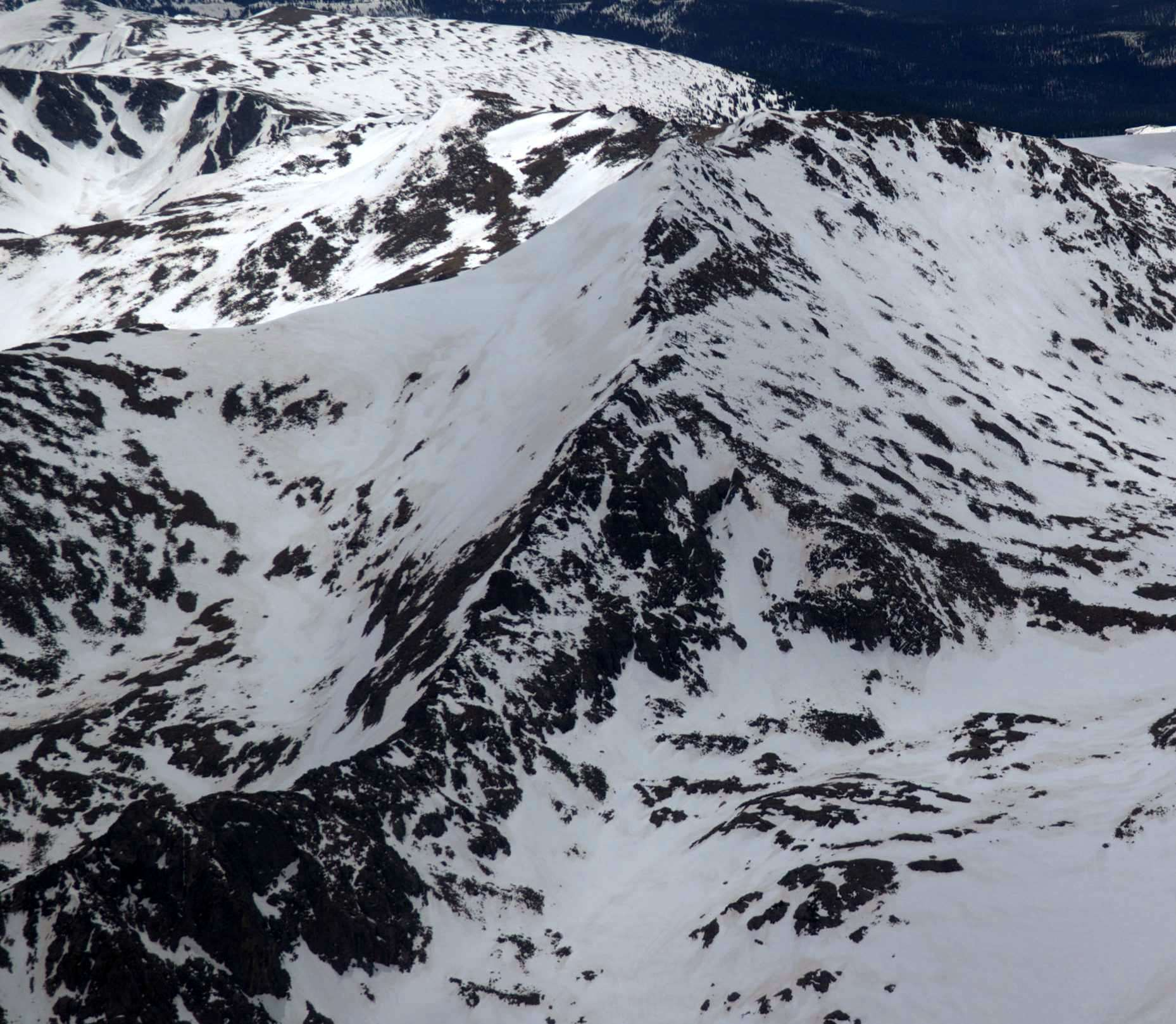 The Northeast Face of Jasper Peak.