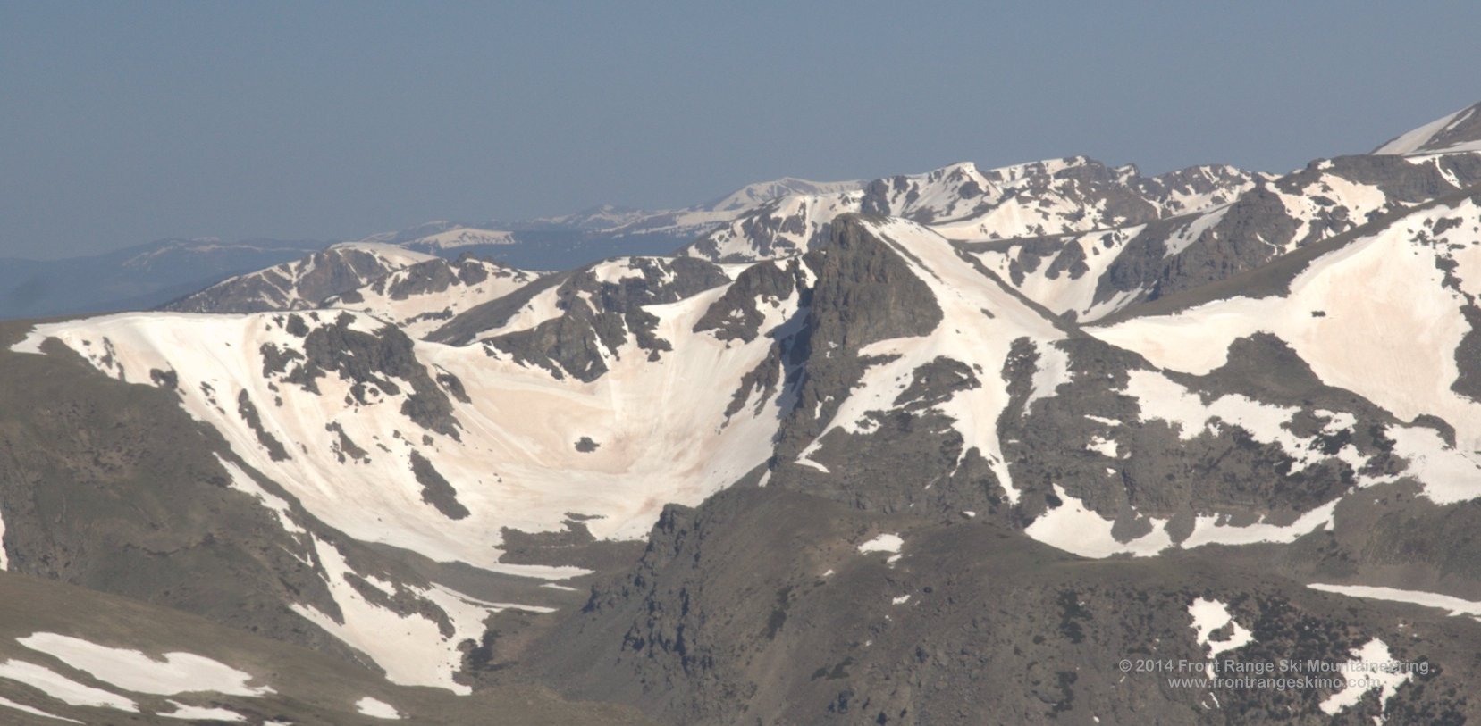 Sawtooth from the south.