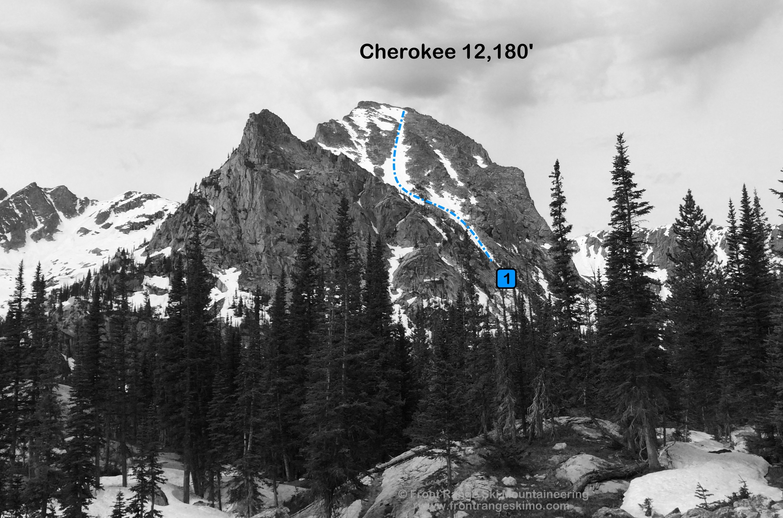 Cherokee from the north. Photo: Rob Writz