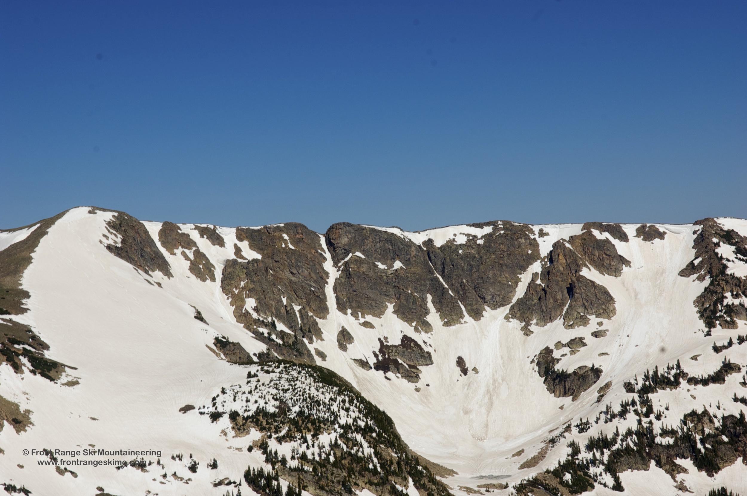 Radiobeacon Peak from the East.