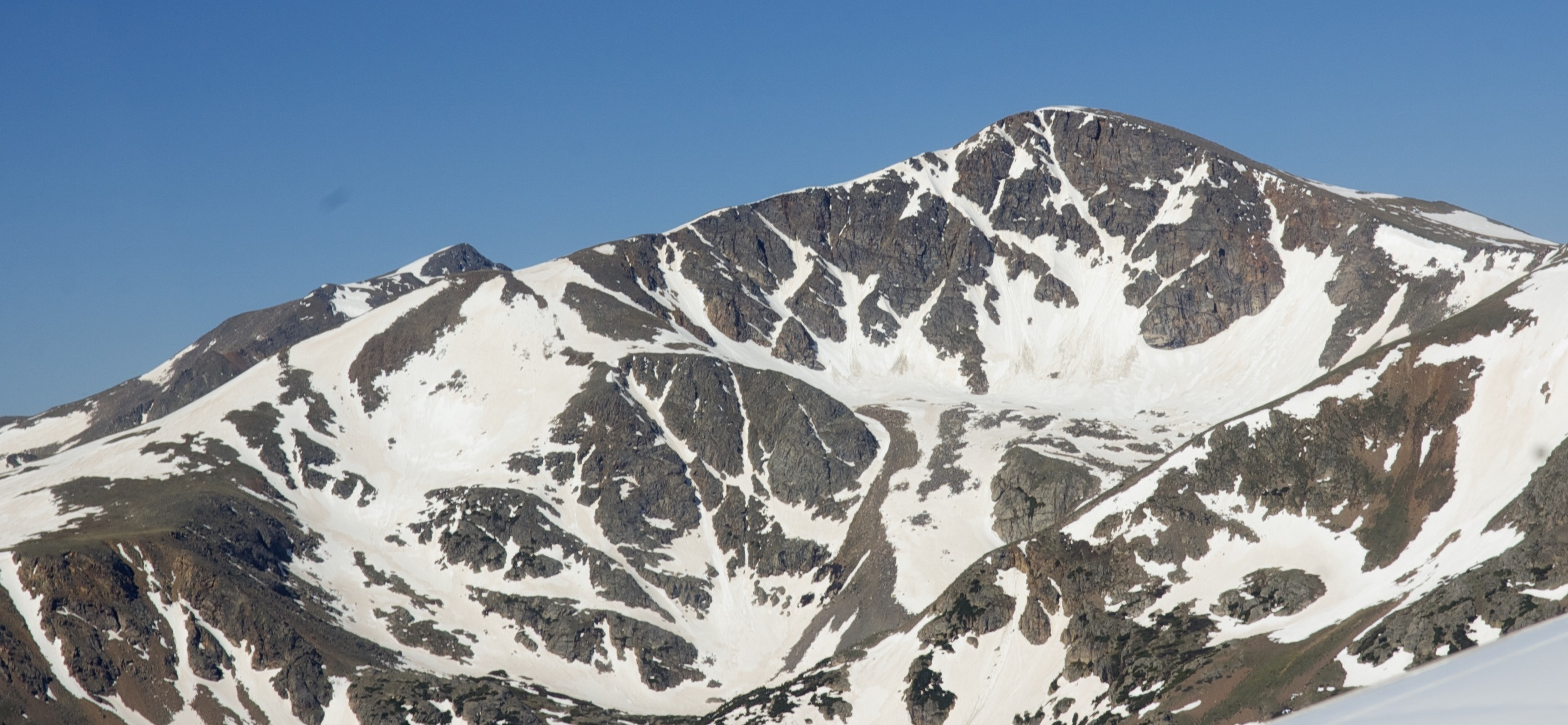James Peak from the east.