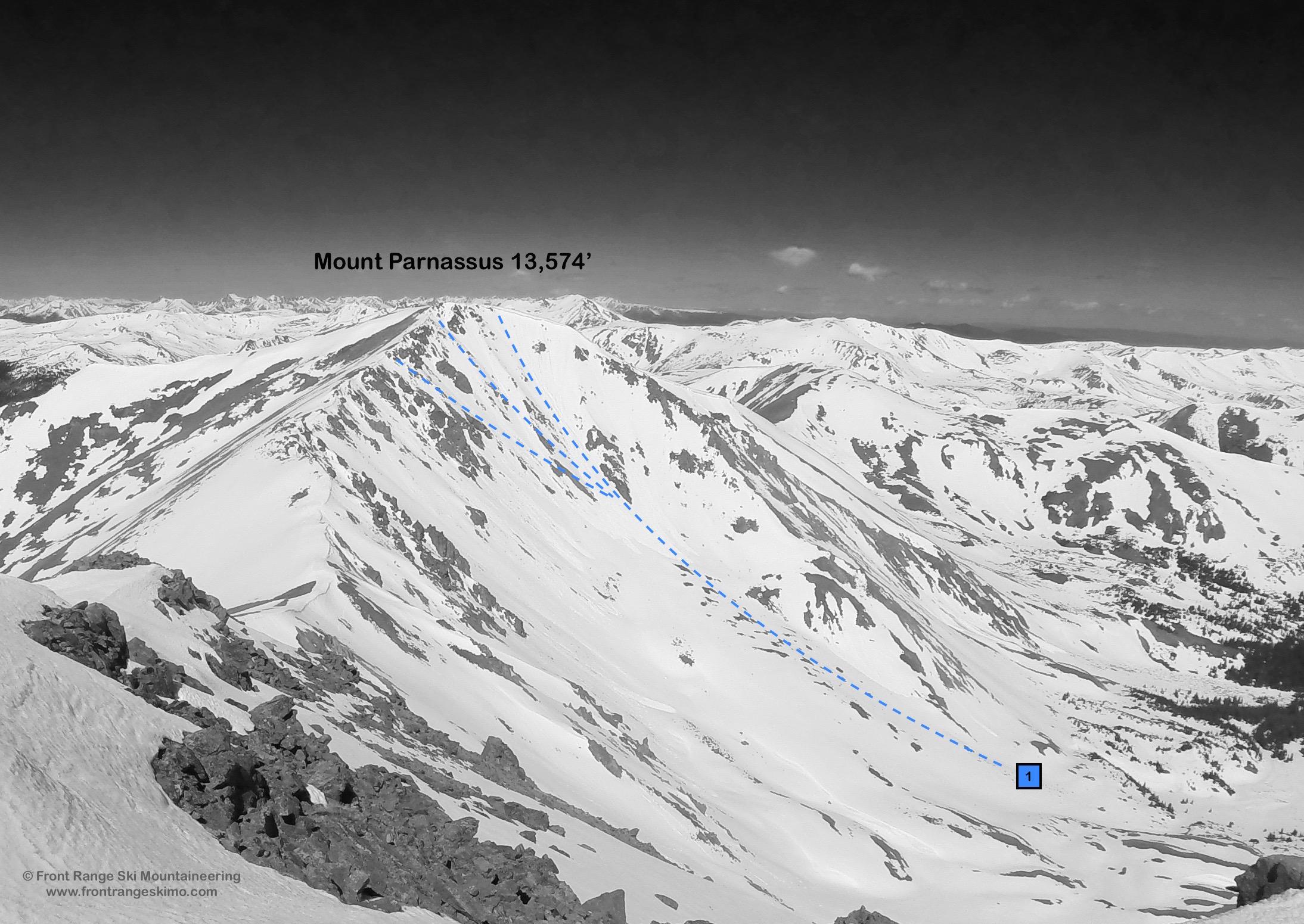 Mount Parnassus Northeast Face