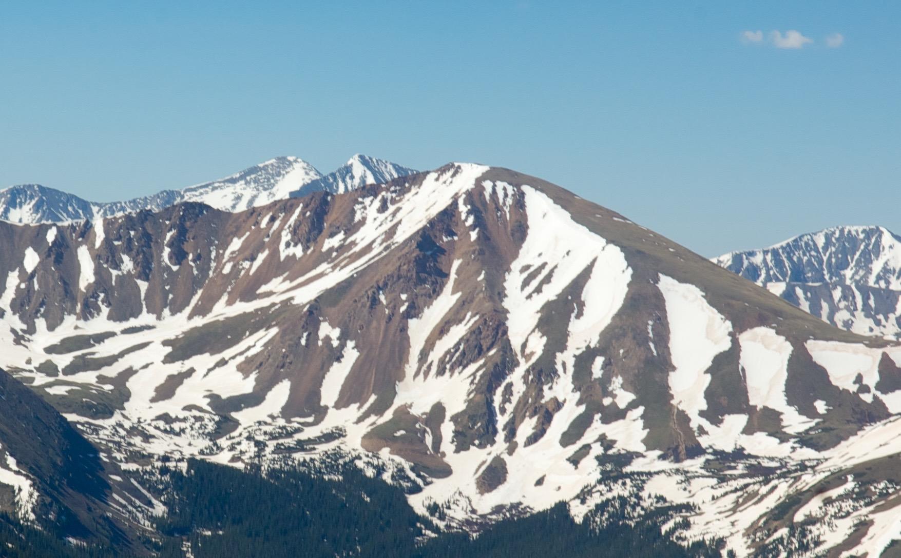 Mount Parnassus North Face.