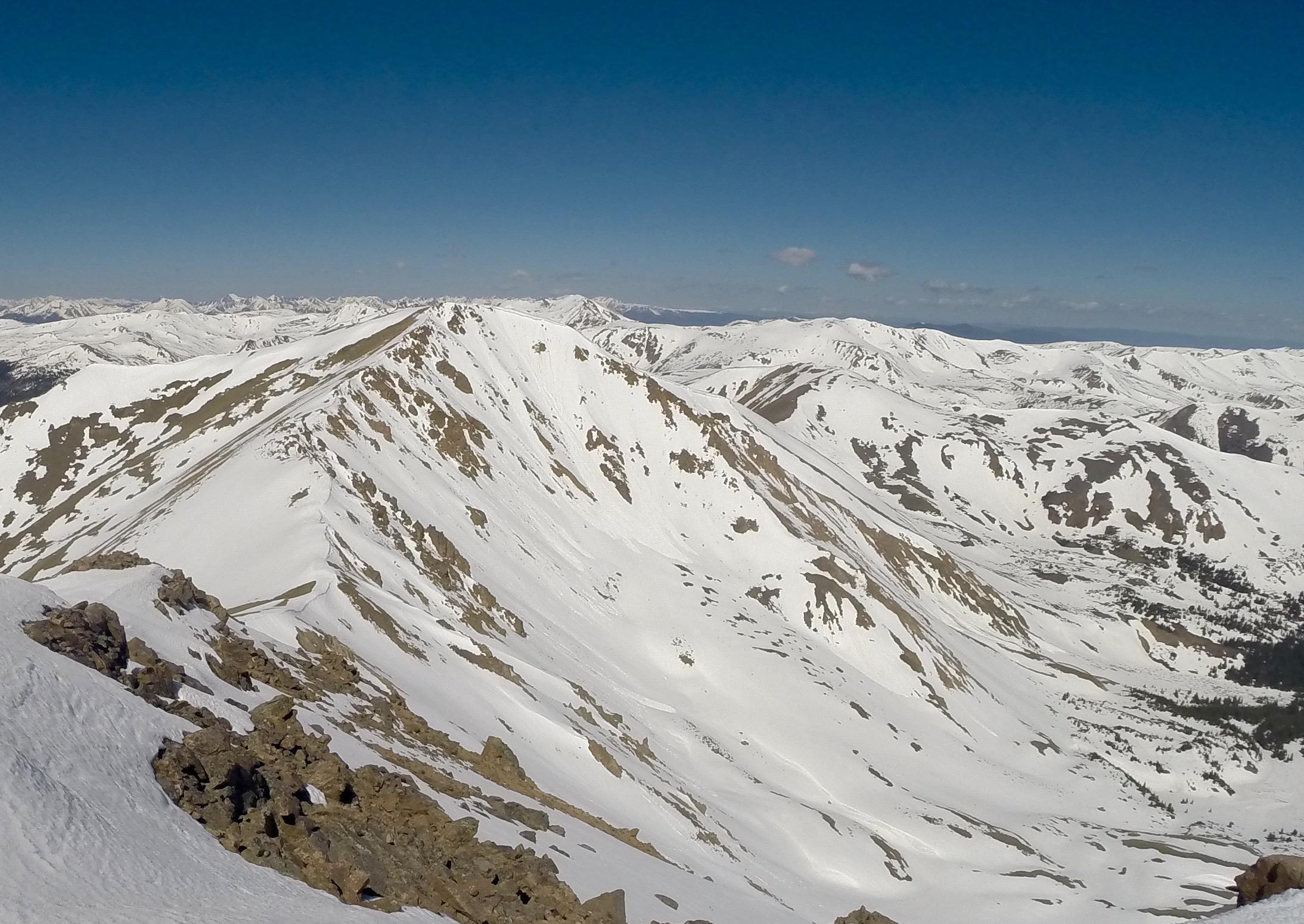 Mount Parnassus Northeast Face.