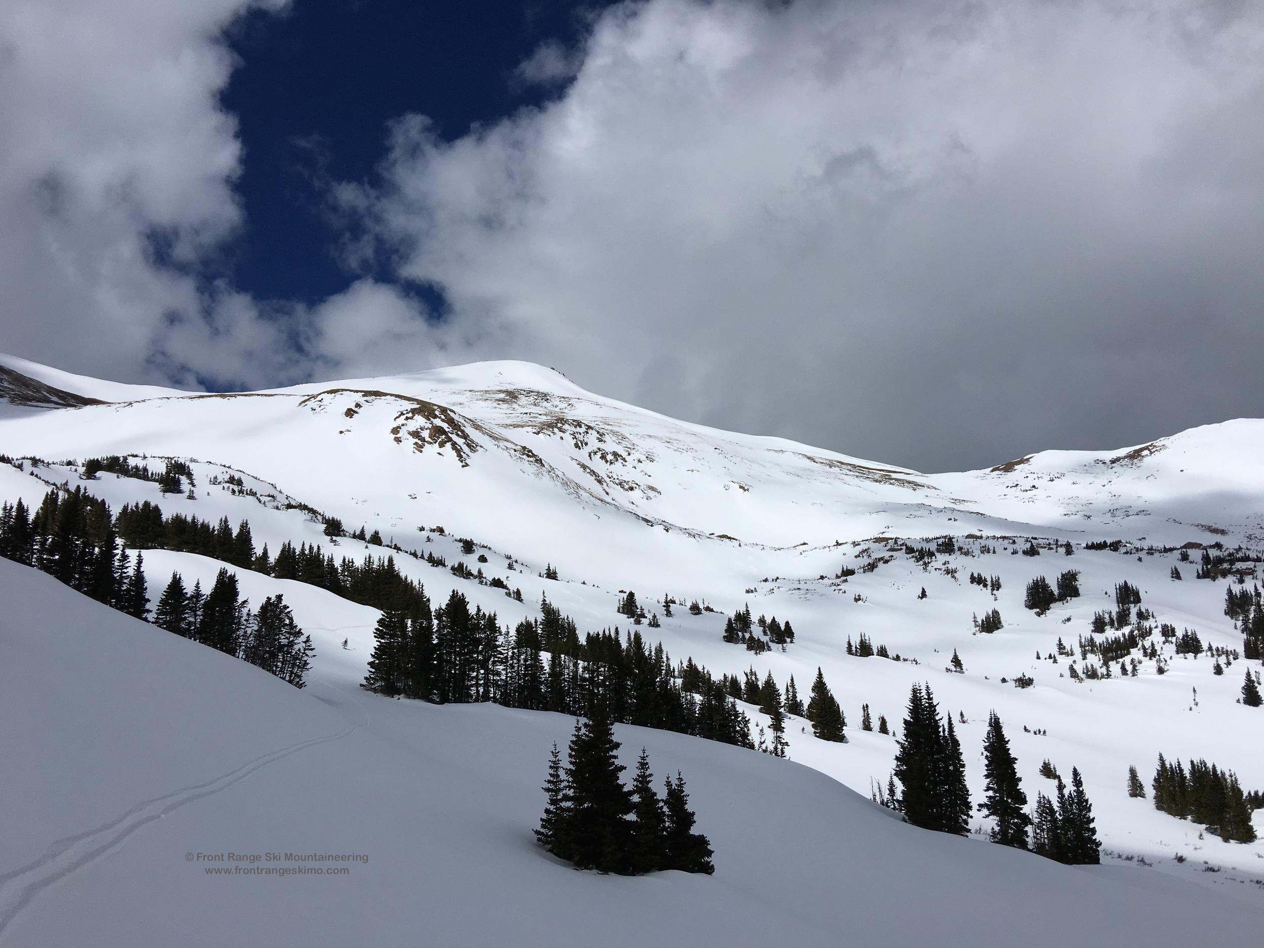 Vasquez Peak from the east.