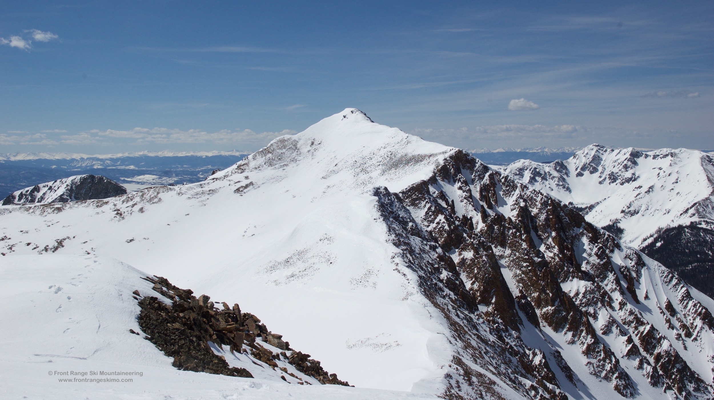 Mount Nimbus as seen from Mount Cumulus.
