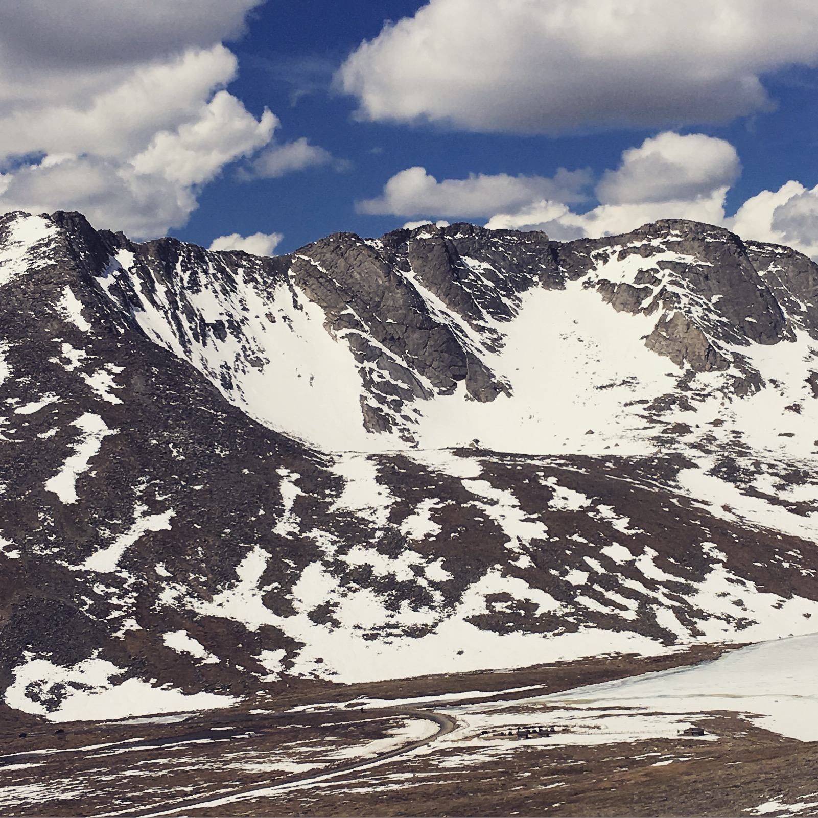 Mount Evans North Face.