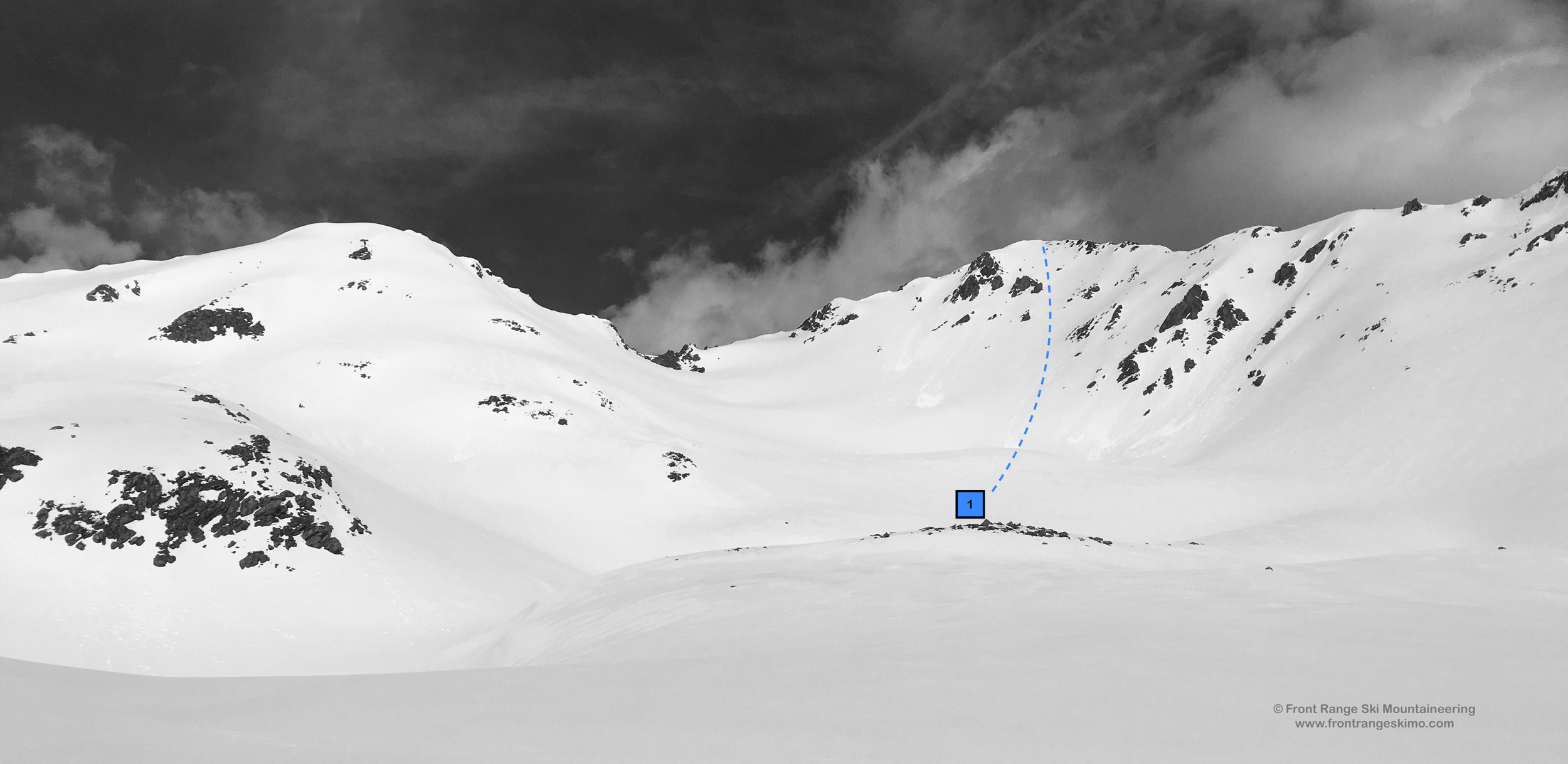 Howard Mountain from the Southeast. Photo: Rob Writz