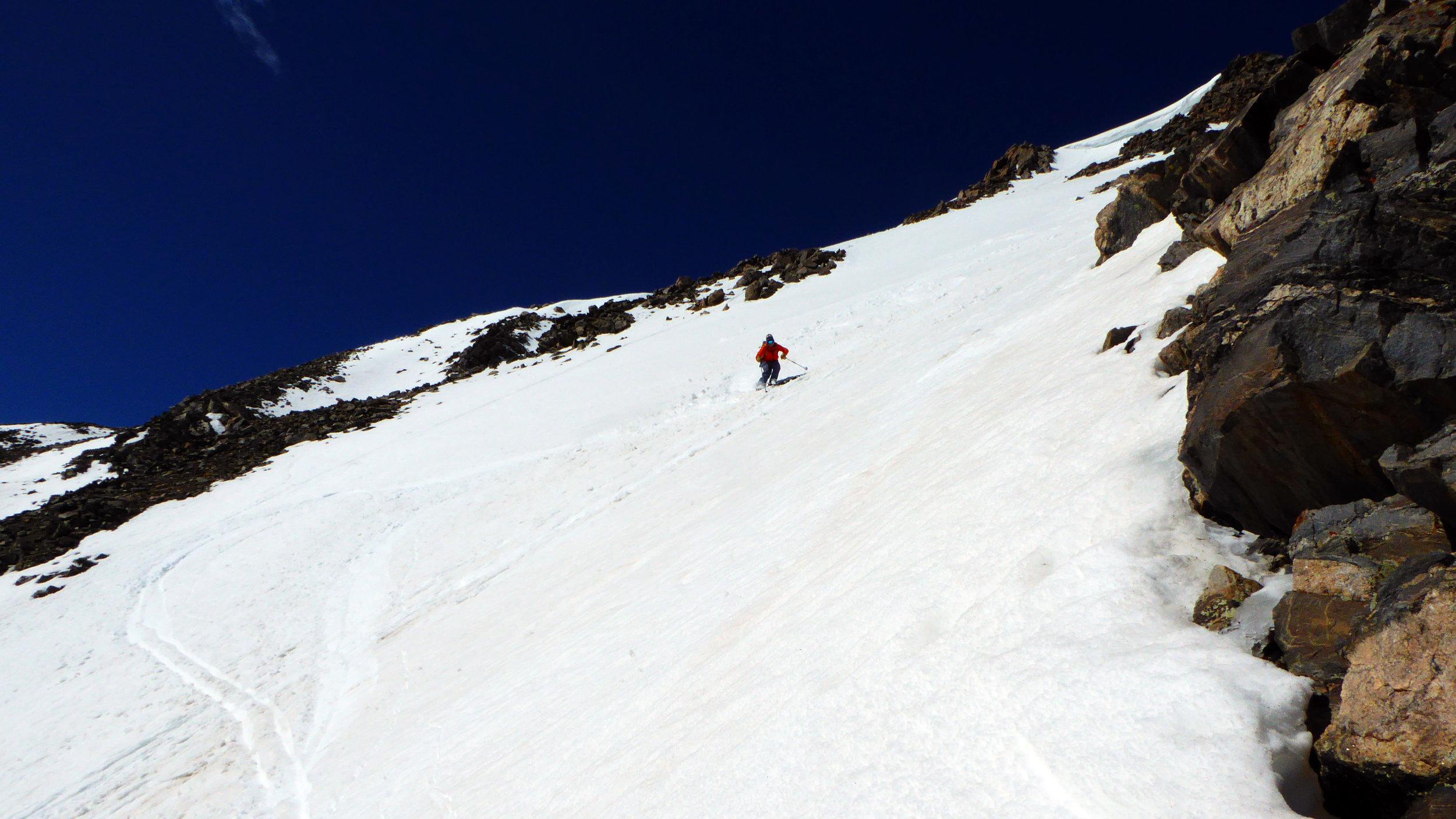Skiing Voltage Drop.