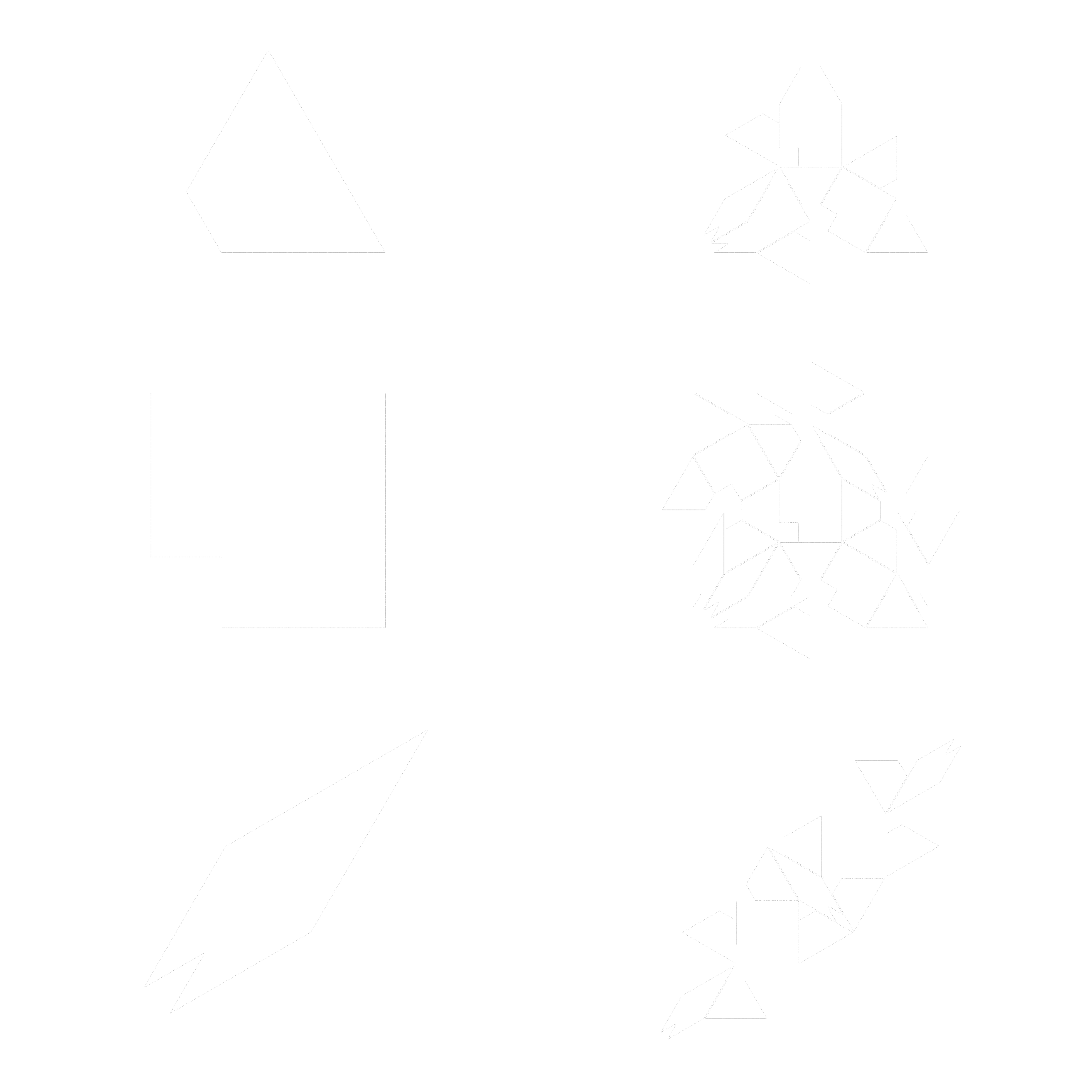 Prototiles and their associated rules for the Watanabe Ito Soma 12-fold tiling.