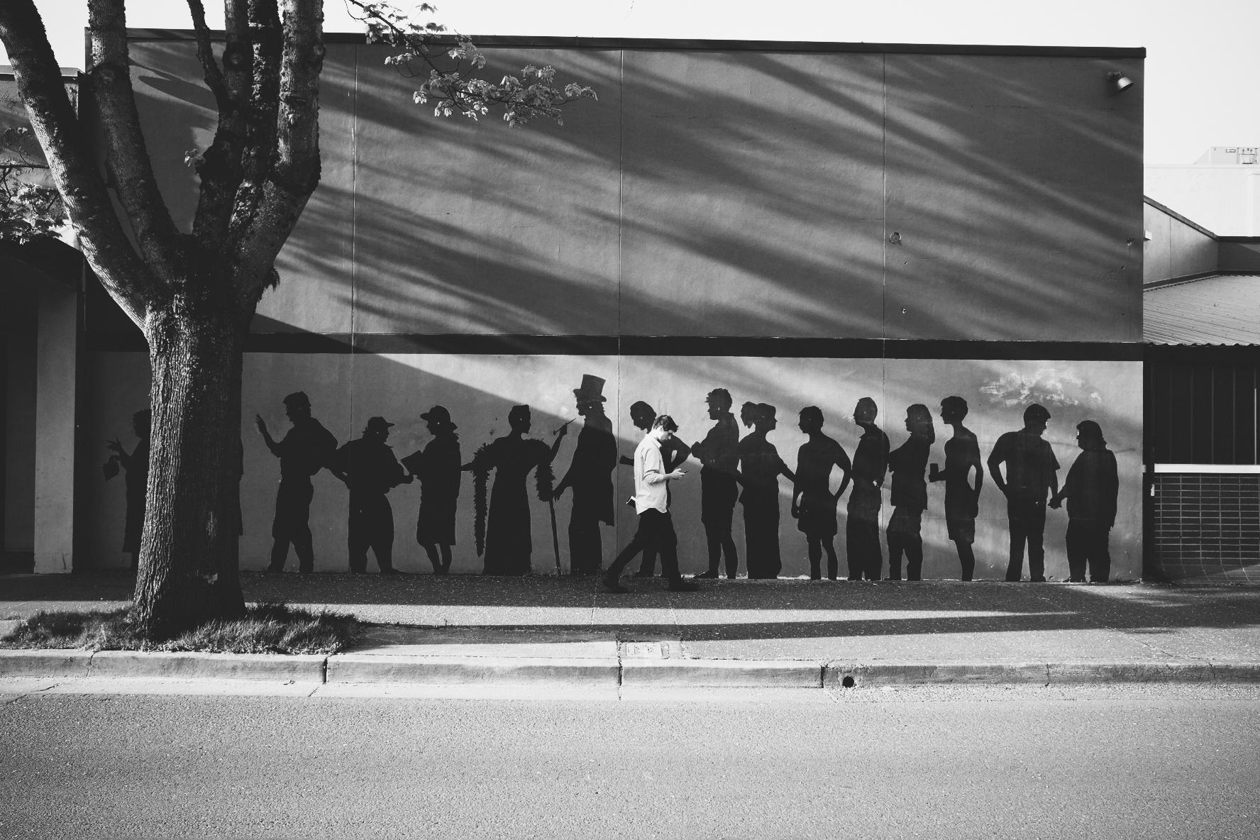 InFormation. Downtown Eugene, Oregon. (c) 2016 Josh Spice