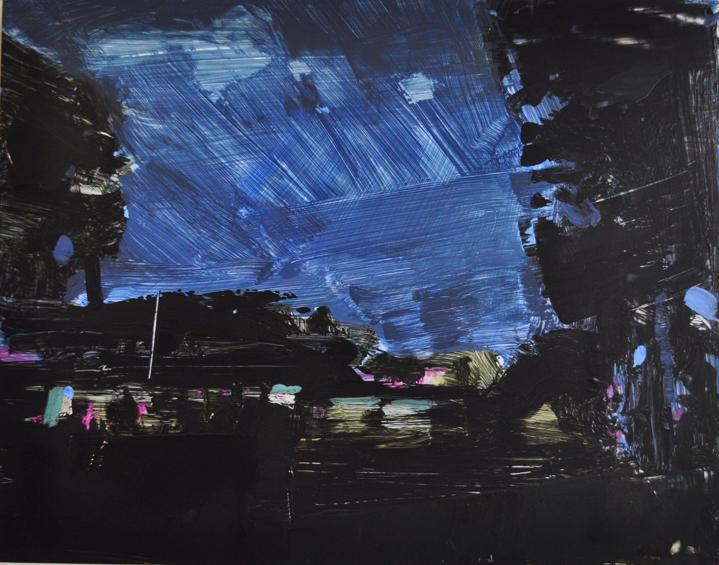 Night Scape Over Park, Jesse Thomas