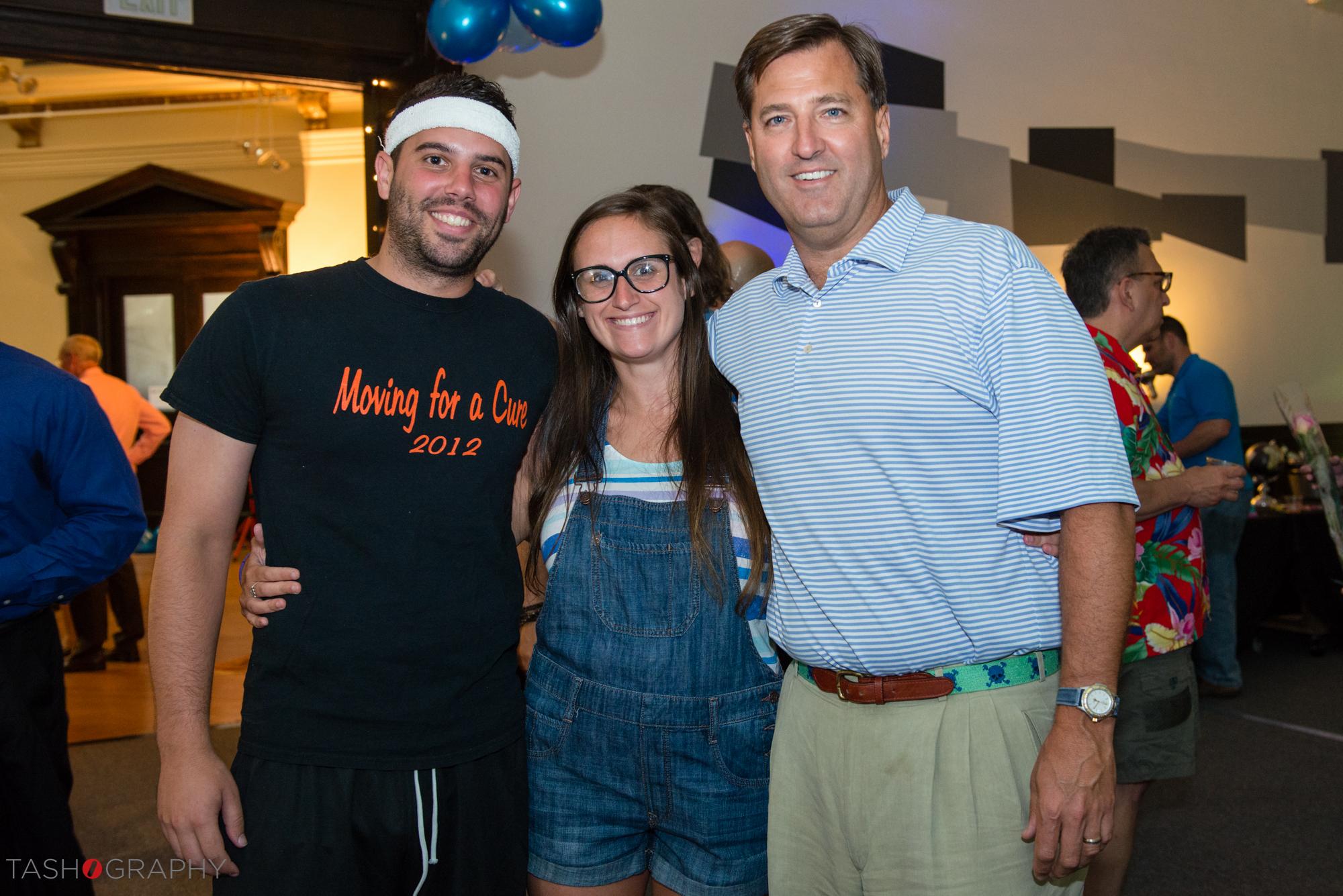 Chuck Theiss, Tara Cancellieri, and Dick OHare