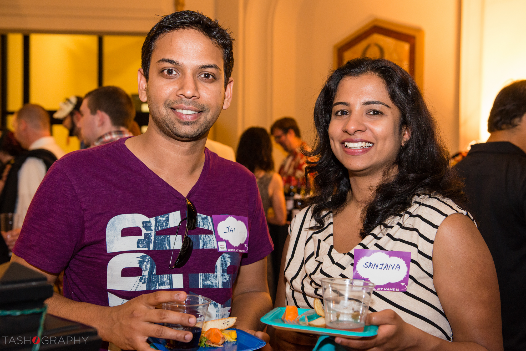 Jai and Sanjana Manghat