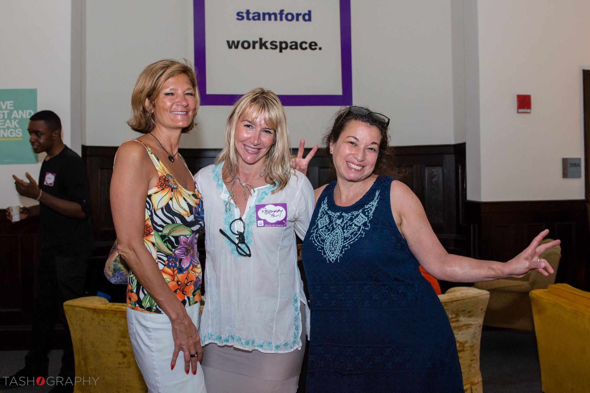 Carla Way, Rosemarie Taverna, and Liz T.