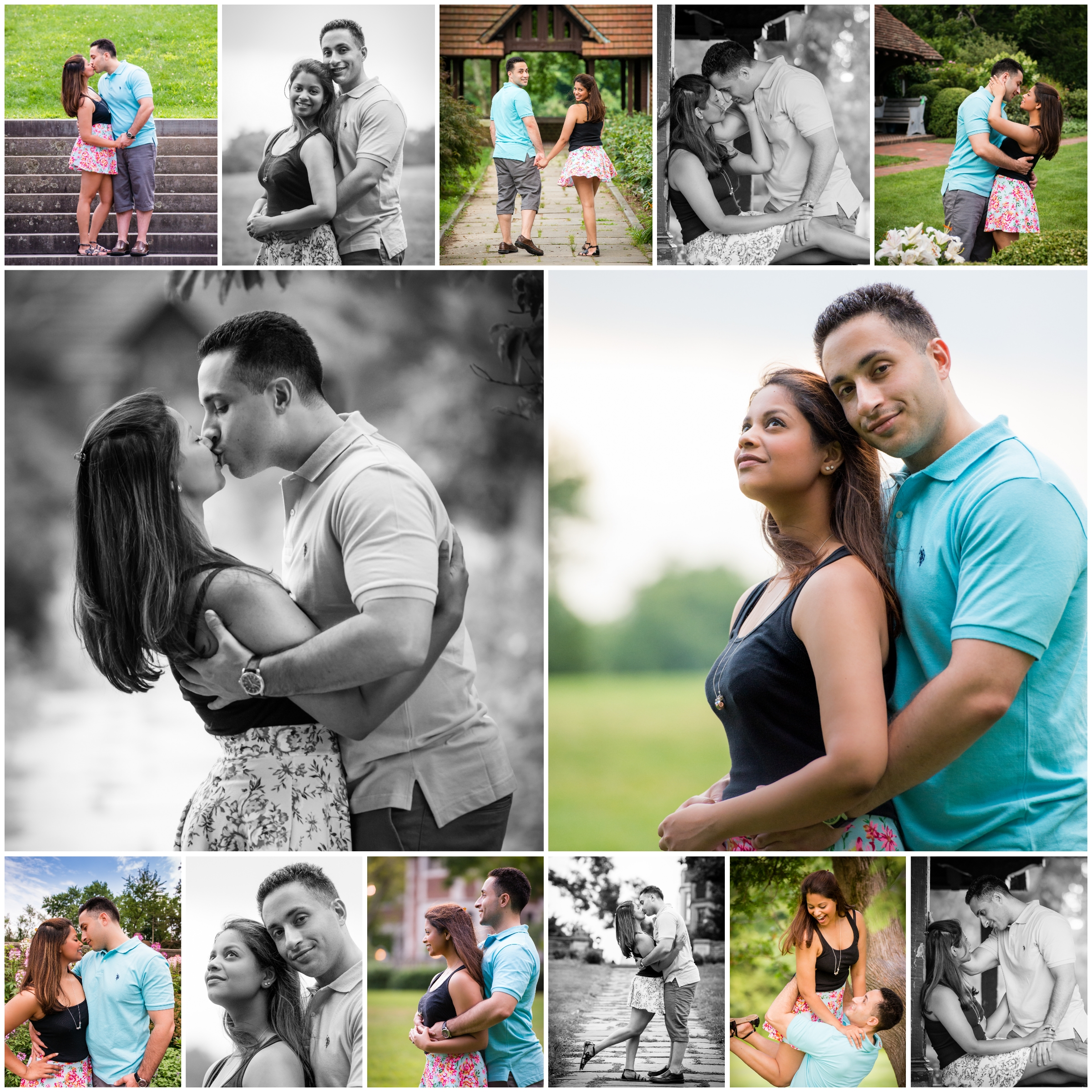 I can't resist sharing more shots from their couples portrait session. You can feel their love through every photo!