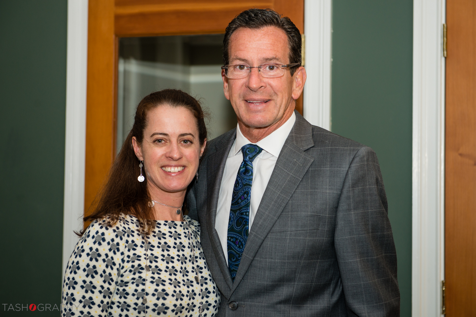 Gov. Malloy and Eagle Hill Staff