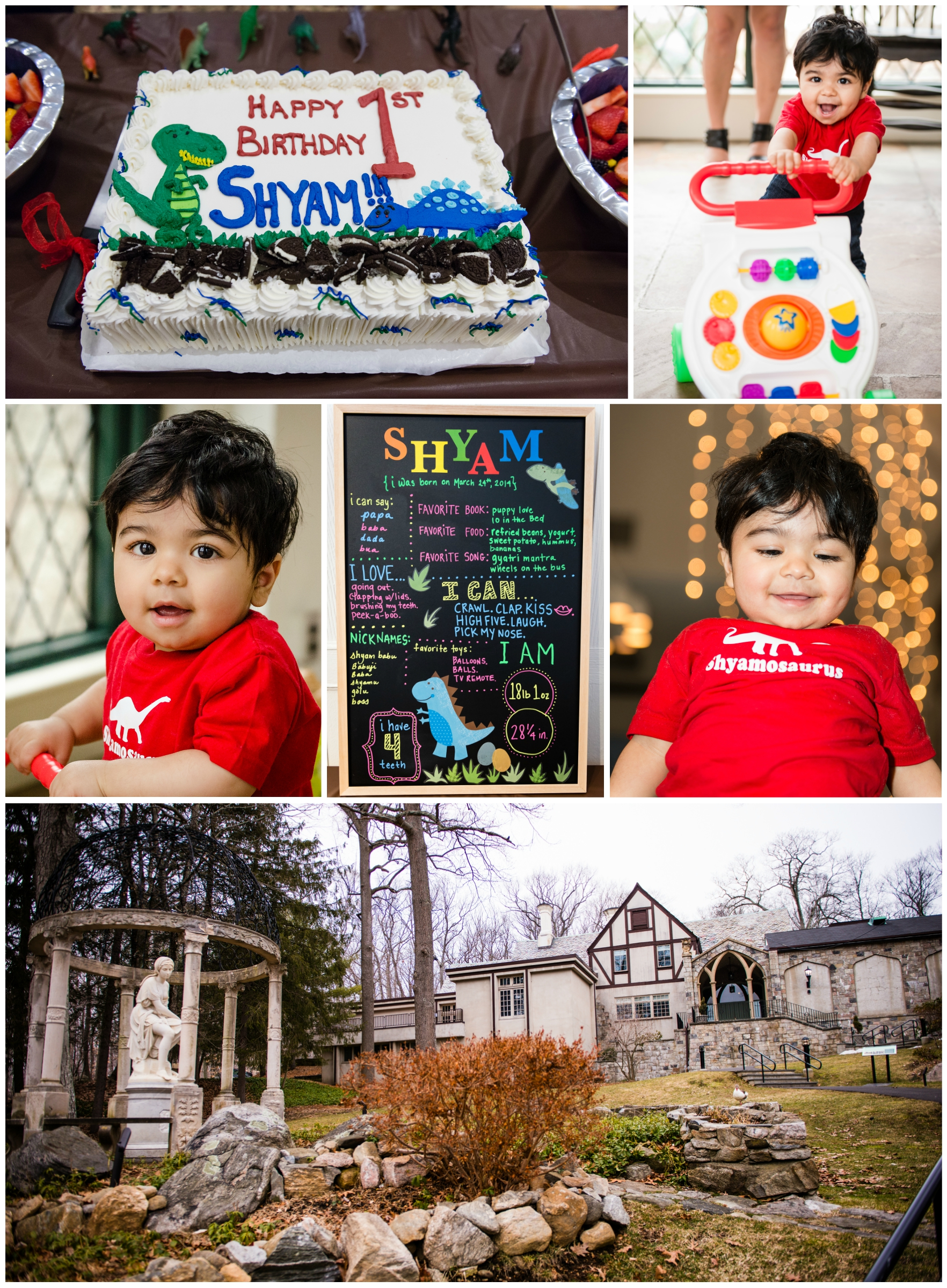 Looks like Shyam had a great time during his first birthday inside Bendel Mansion! His parents did a wonderful job planning his special day.