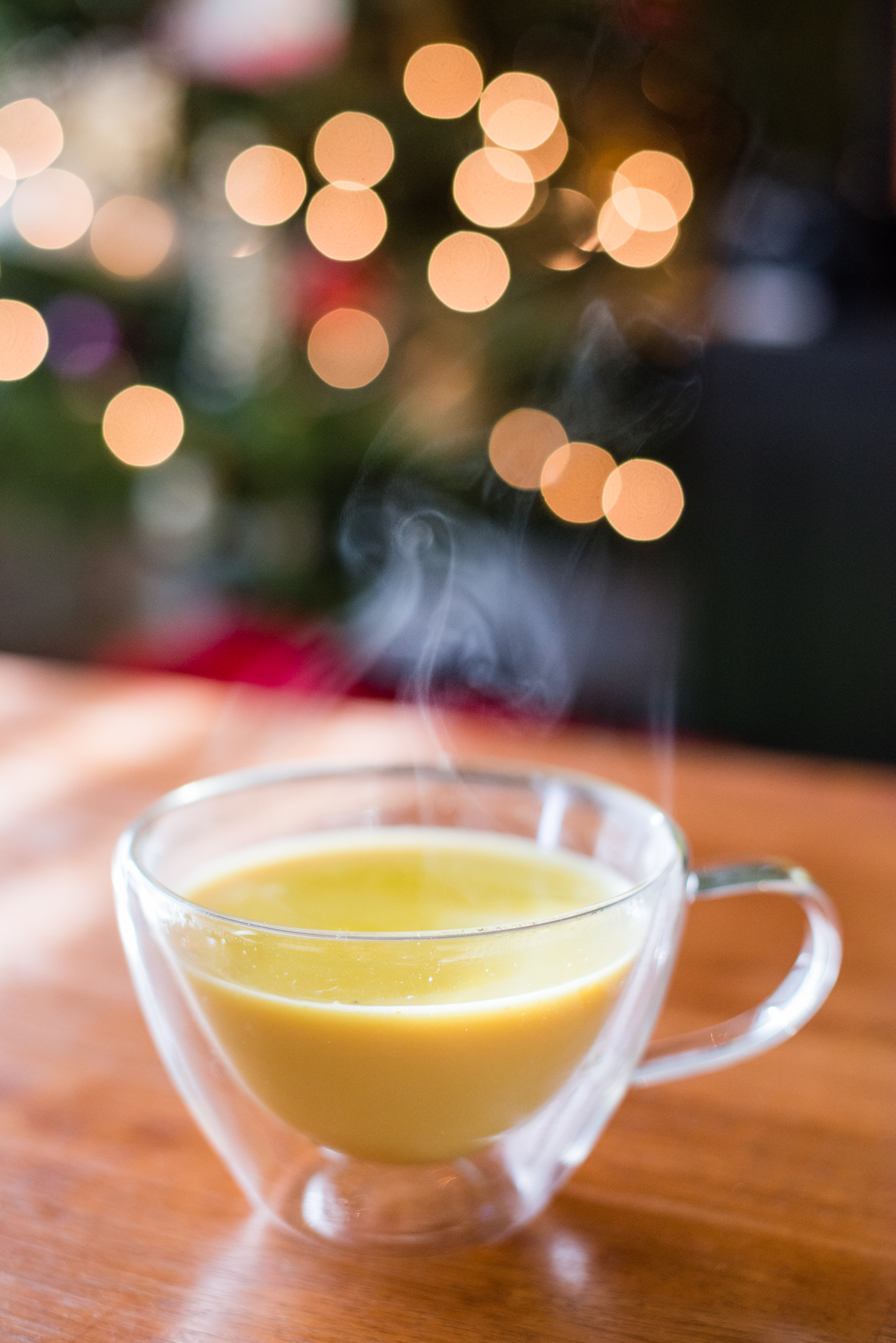 Turmeric Milk aka Golden Milk Remedy for a Sore Throat, Cold or Flu
