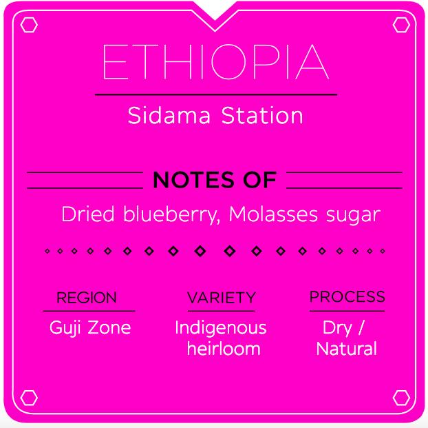 ETHIOPIA SIDAMA STATION NATURAL