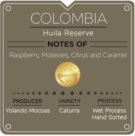 COLOMBIA HUILA RESERVE (12 OZ)