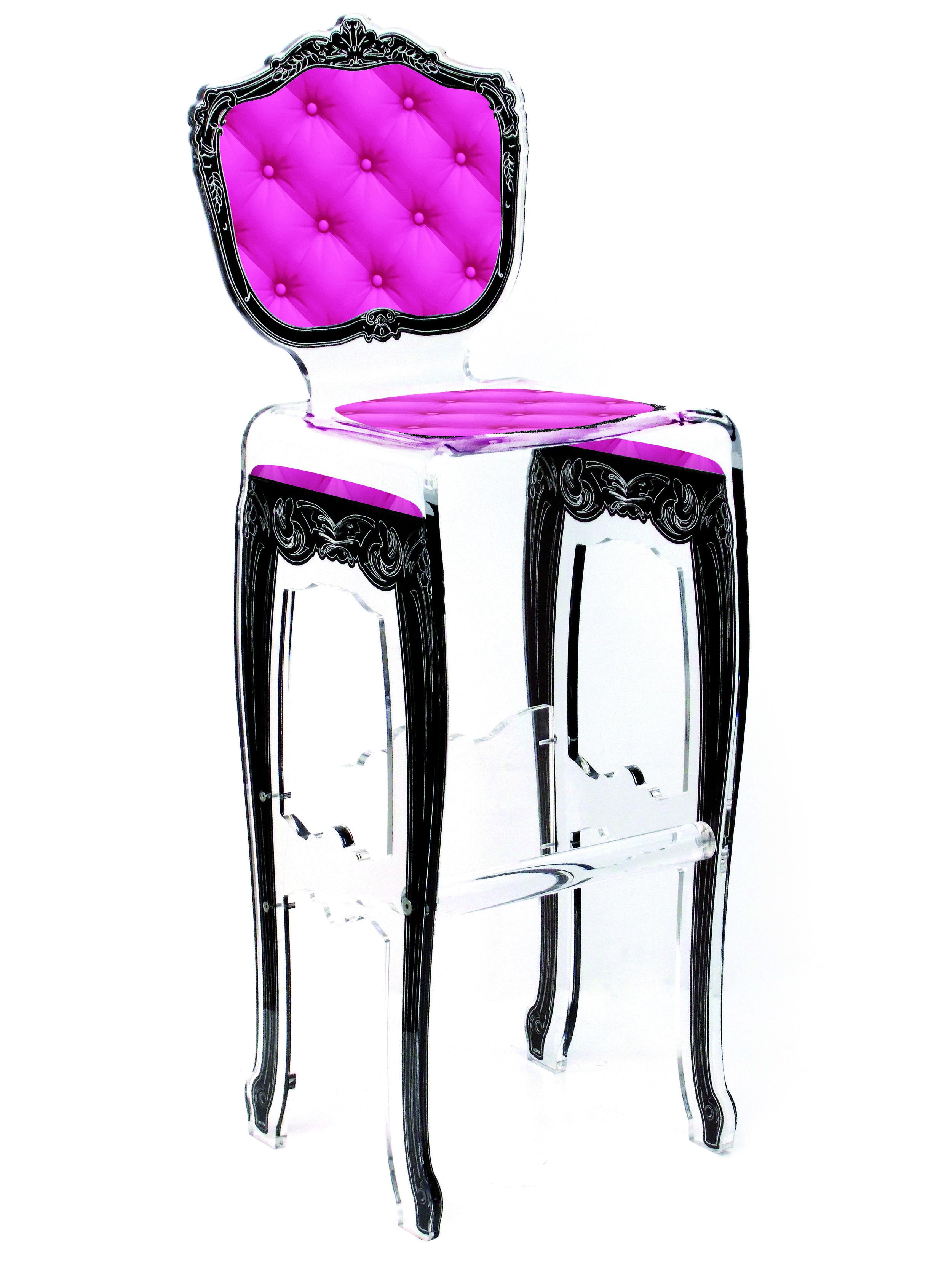 Barstool Plexi Pink