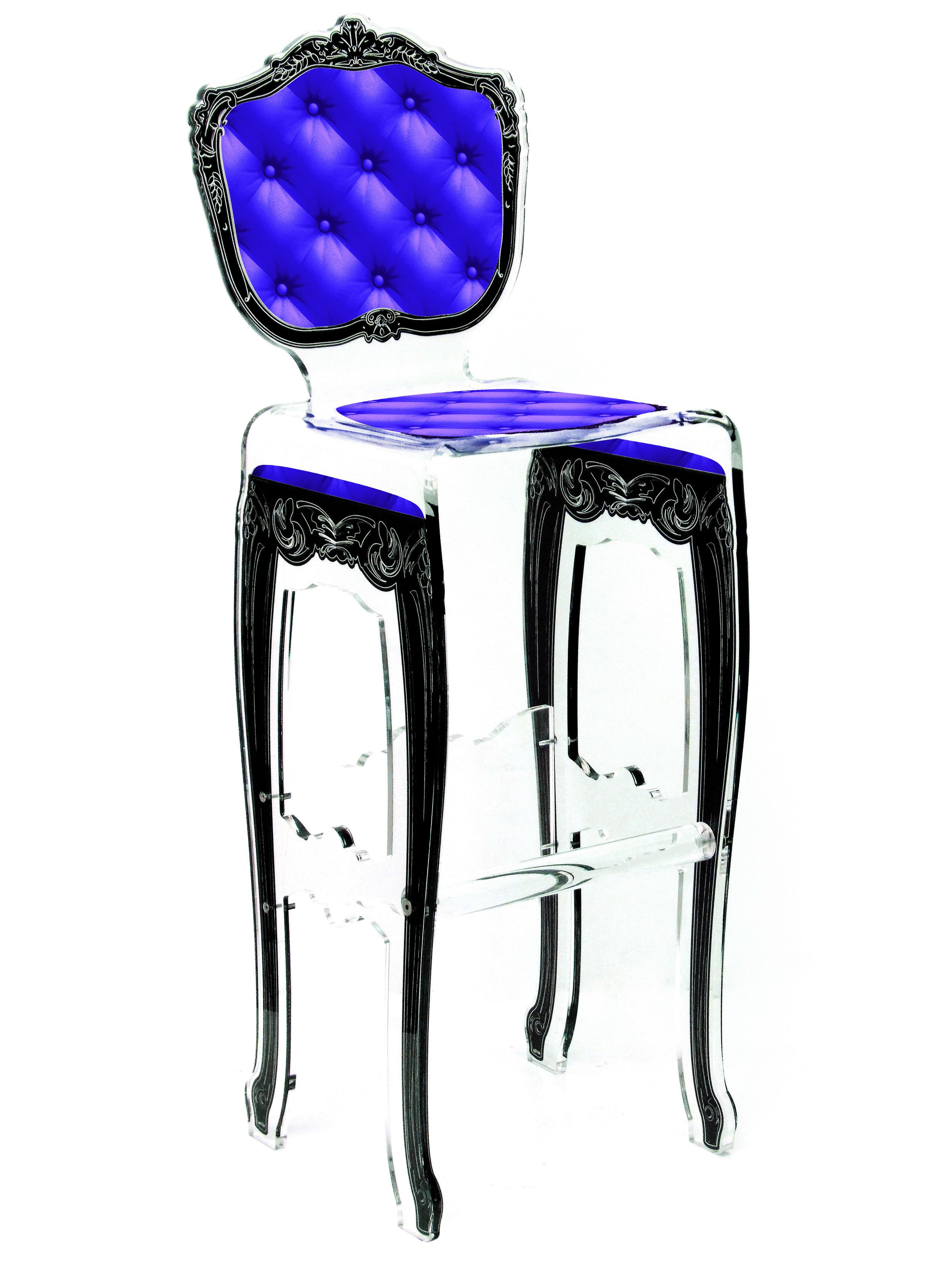 Barstool Plexi Purple