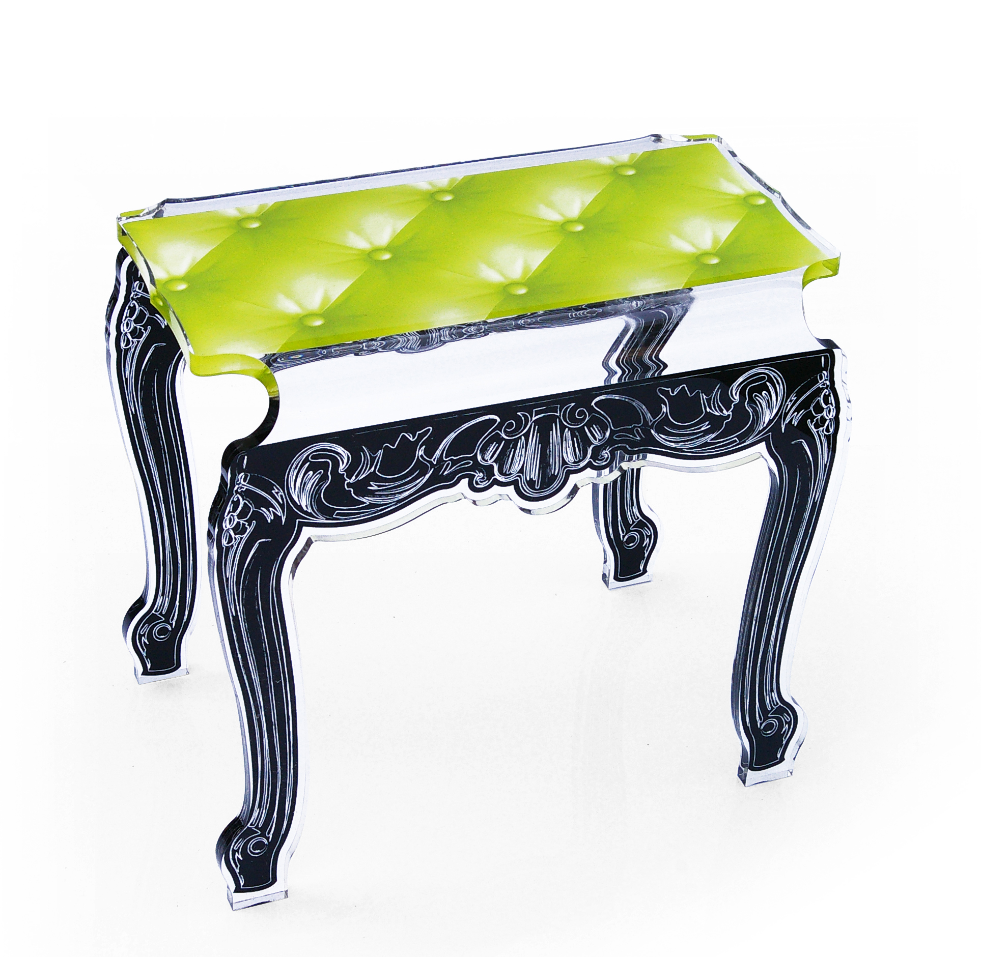 Side Table or Bench Lime