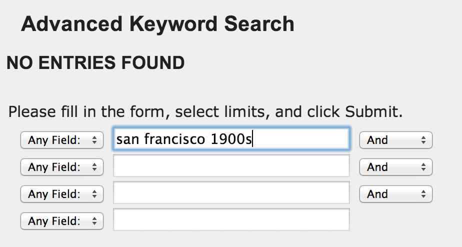 """Users were surprised when their search under """"Journals/Magazines/Newspapers"""" in """"Quick Search"""" returned no results."""