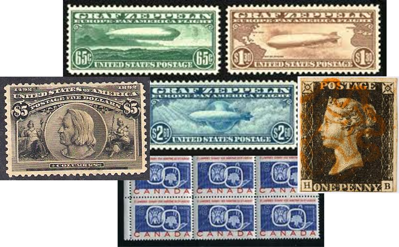 Stamp Appraisals — West Coast Stamp Company