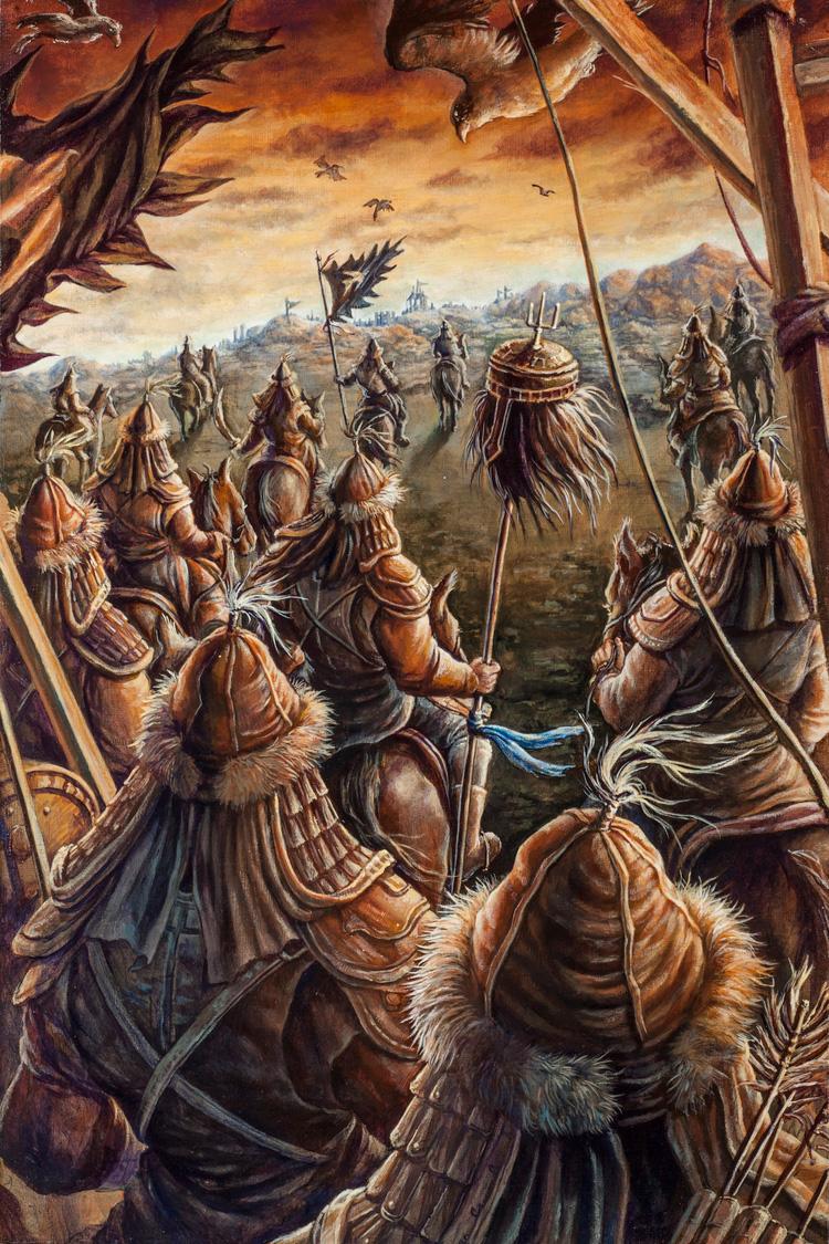 Genghis Khan, Advance