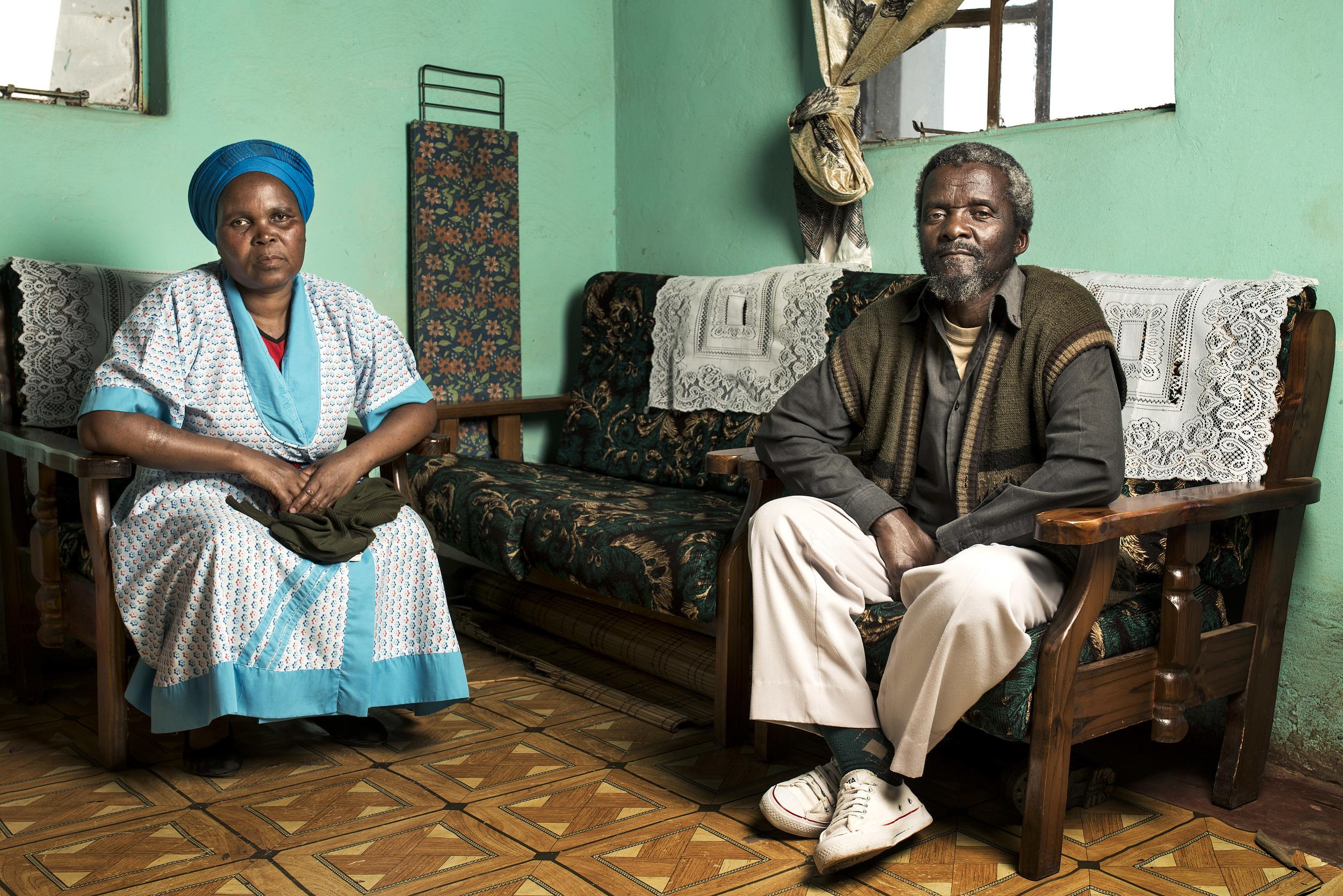 Mzawubalalekwa & Macetshwayo Diya at home.