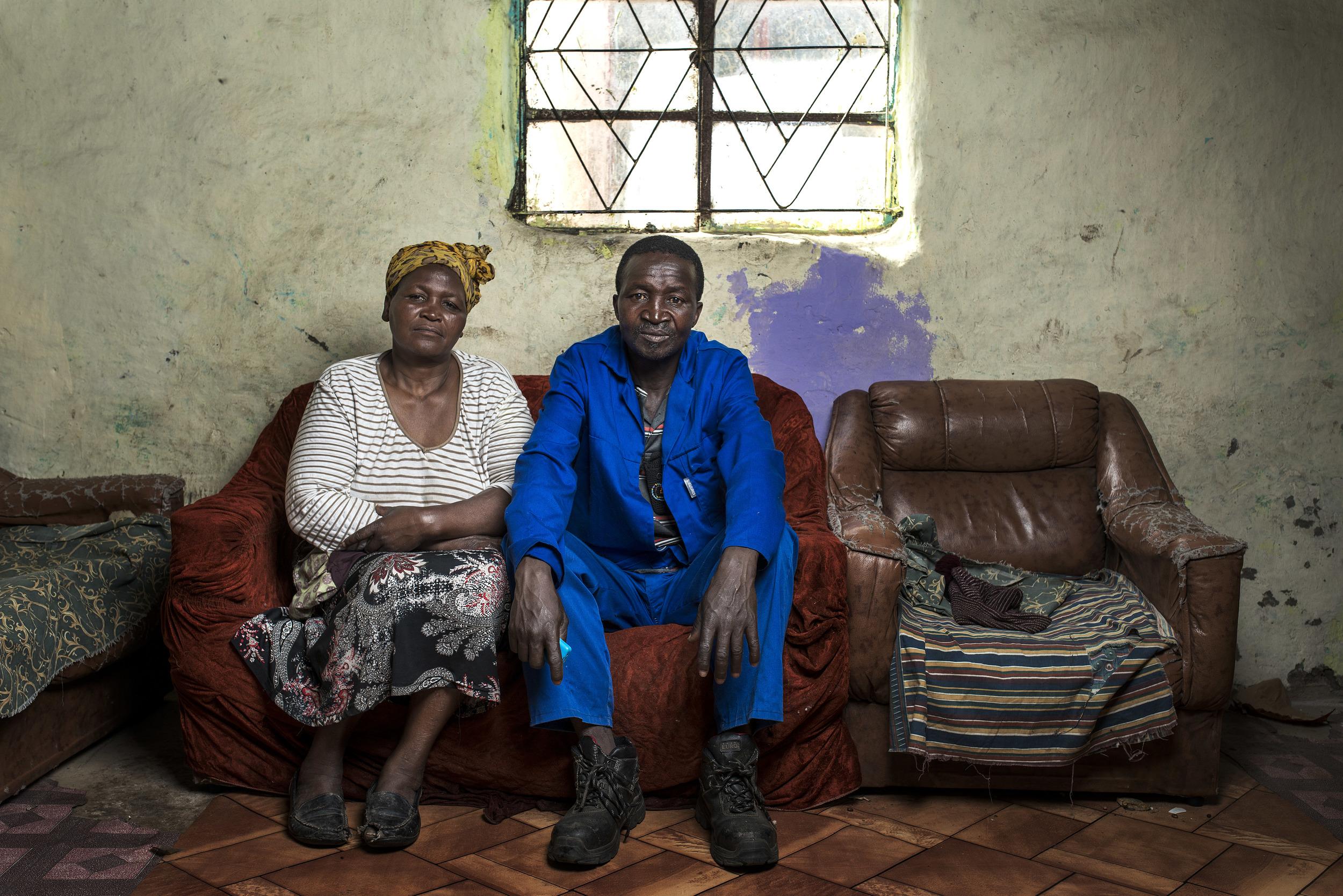 Thulenkho Kuswana at home.