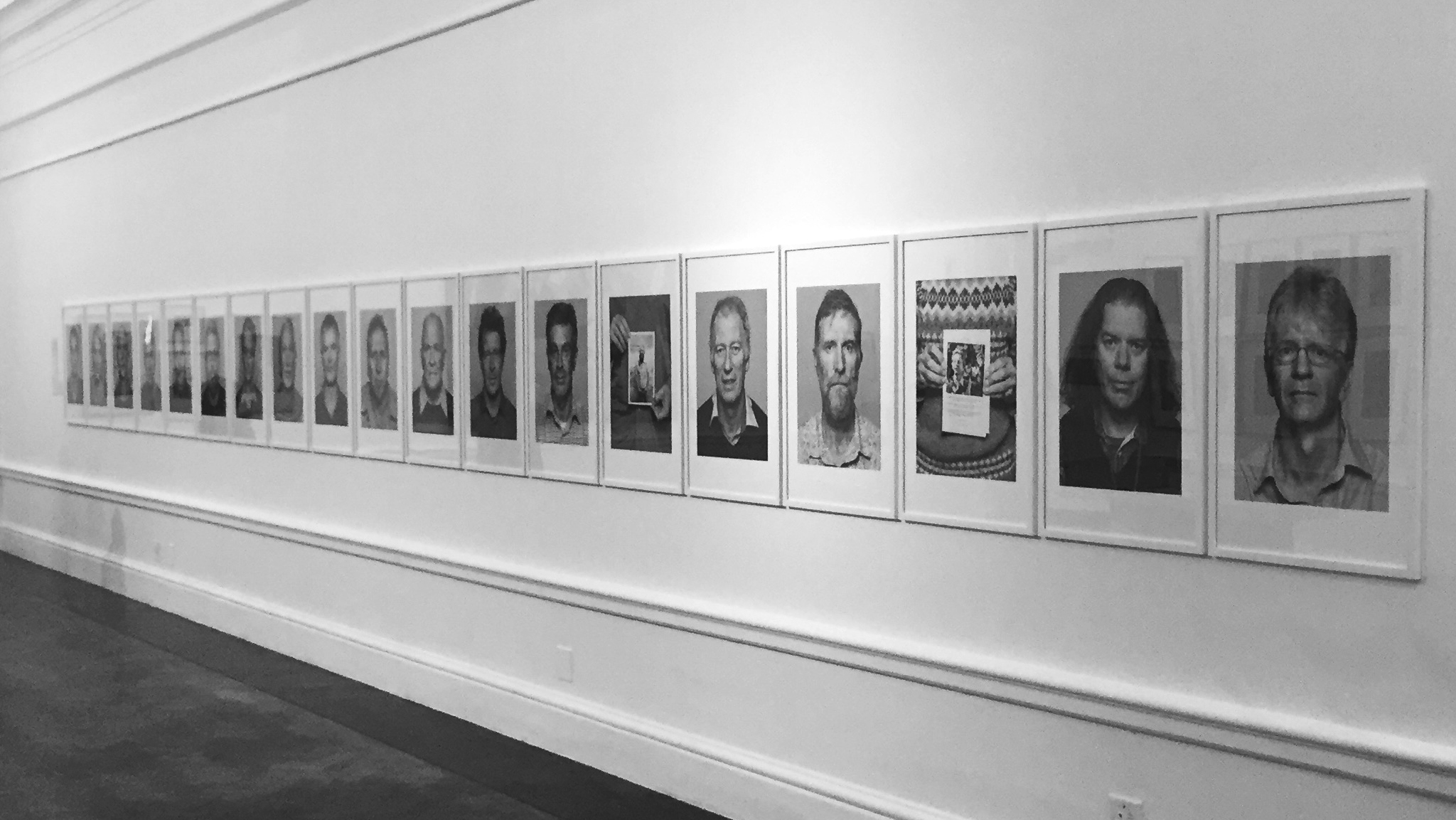 The Objectors on Exhibition at the South African National Gallery in Cape Town.