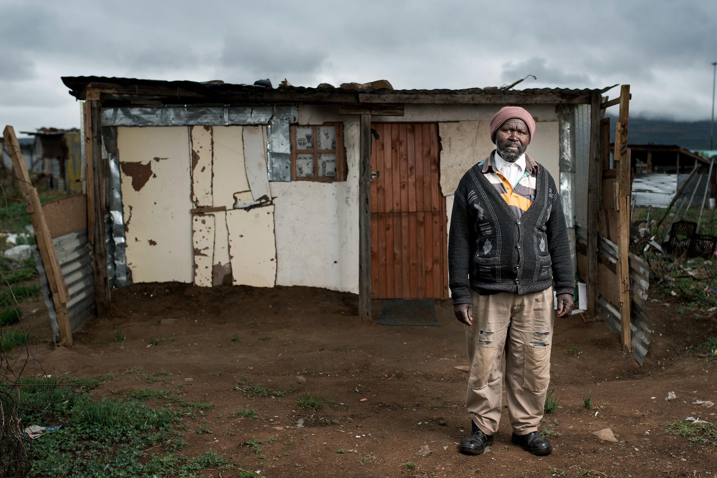 Mthuthuzeli Mtshange - Queenstown, 2015